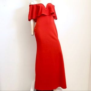 Red Gown or Maxi Dress